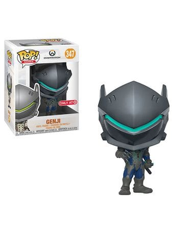 Фигурка Overwatch - Genji Carbon Fibre (Funko POP!) [Exclusive]