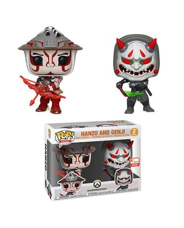 Фигурки Overwatch - Hanzo & Genji (Funko POP!) [Exclusive]