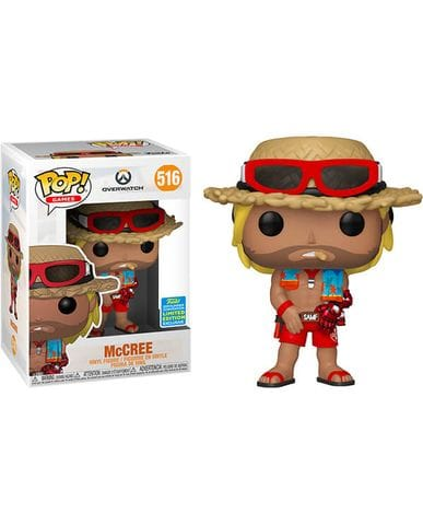 Фигурка Overwatch - McCree Summer Skin (Funko POP!) [Exclusive]