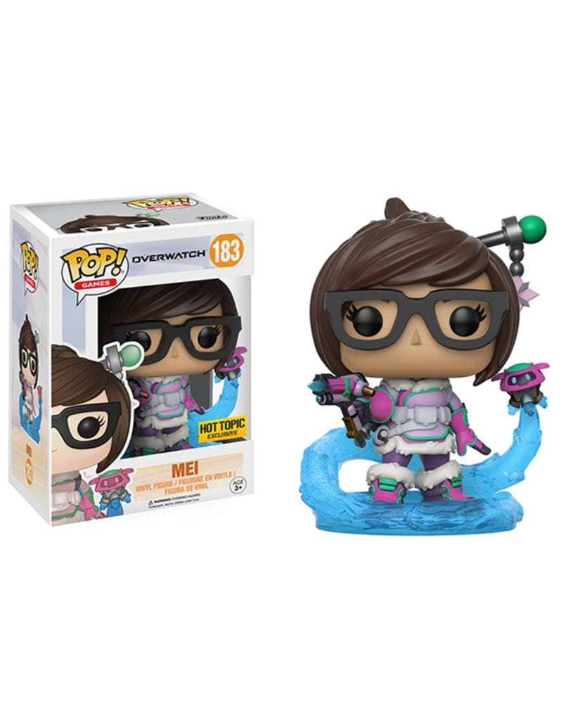 Фигурка Overwatch – Mei Mid Blizzard (Funko POP!) [Exclusive]
