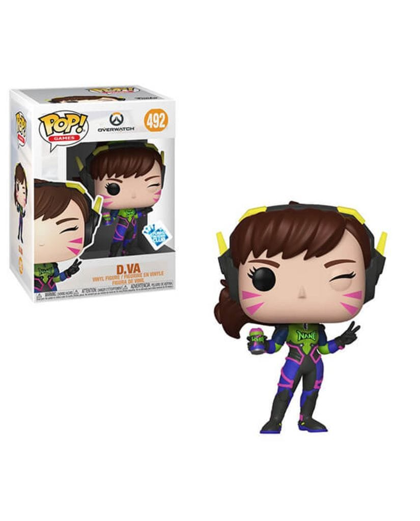 Фигурка Overwatch - Nano Cola D.Va (Funko POP!) [Exclusive]