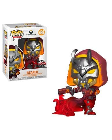 Фигурка Overwatch - Reaper Hell Fire (Funko POP!) [Exclusive]
