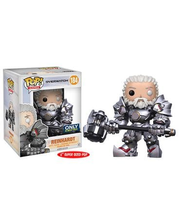 Фигурка Overwatch - Reinhardt Unmasked (Funko POP!) [Exclusive]