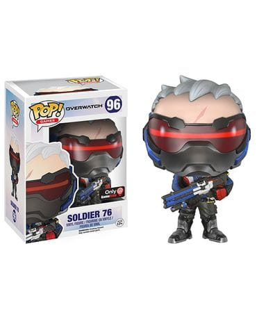 Фигурка Overwatch - Soldier 76 (Funko POP!) [Exclusive]