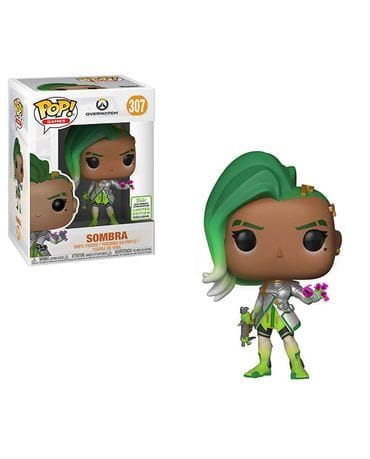 Фигурка Overwatch - Sombra Glitch (Funko POP!) [Exclusive]