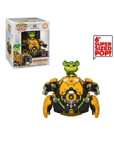 Фигурка Overwatch – Toxic Wrecking Ball (Funko POP!)