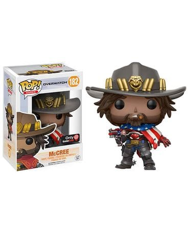Фигурка Overwatch - USA McCree (Funko POP!) [Exclusive]