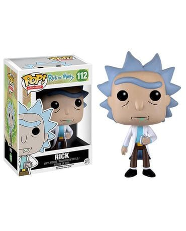 Фигурка Rick and Morty - Rick (Funko POP!)