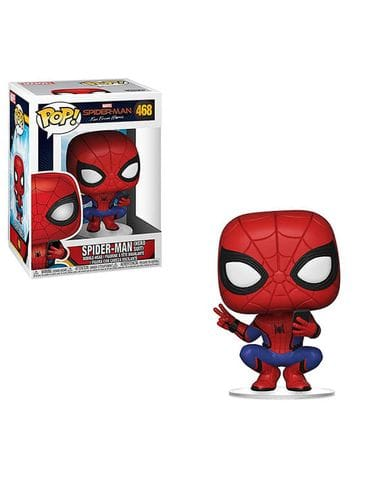 Фигурка Spider-Man: Far from Home - Spider-Man Hero Suit (Funko POP!)