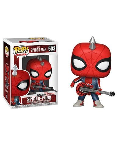 Фигурка Marvel's Spider-Man - Spider-Punk (Funko POP!) [Exclusive]