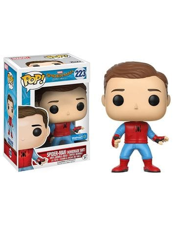 Фигурка Spider-Man: Homecoming – Spider-Man Prototype Unmasked (Funko POP!) [Exclusive]
