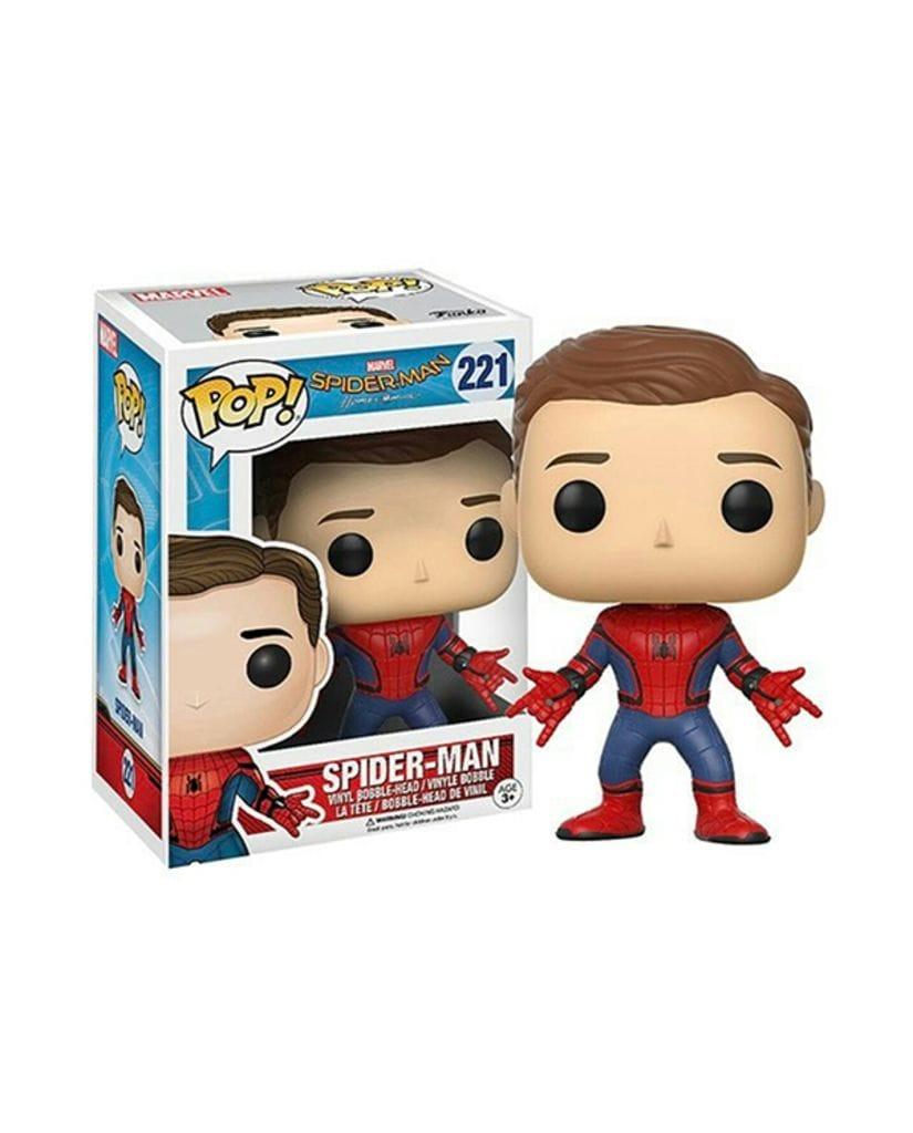 Фигурка Spider-Man: Homecoming – Spider-Man Unmasked (Funko POP!) [Exclusive]