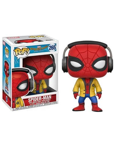 Фигурка Spider-Man: Homecoming - Spider-Man with Headphones (Funko POP!)