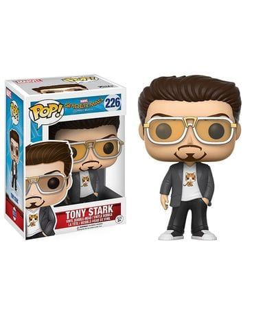 Фигурка Spider-Man: Homecoming – Tony Stark (Funko POP!)