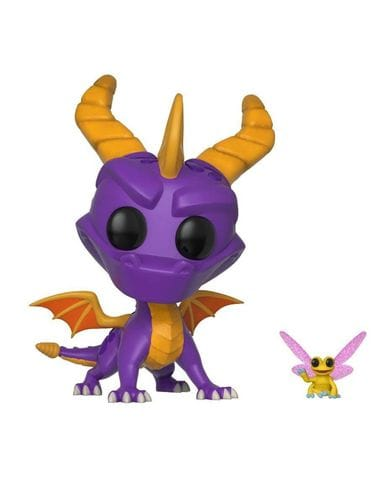 Фигурка Spyro the Dragon - Spyro with Sparx (Funko POP!)