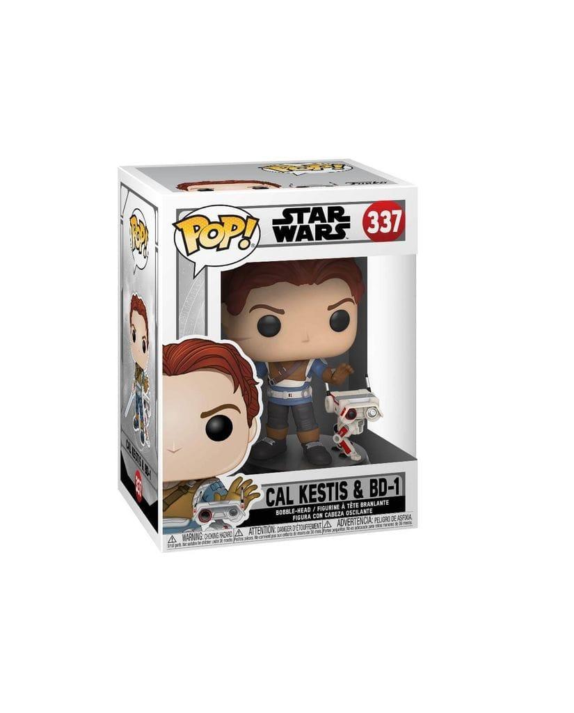 Фигурка Star Wars Jedi: Fallen Order - Cal Kestis with BD-1 (Funko POP!)