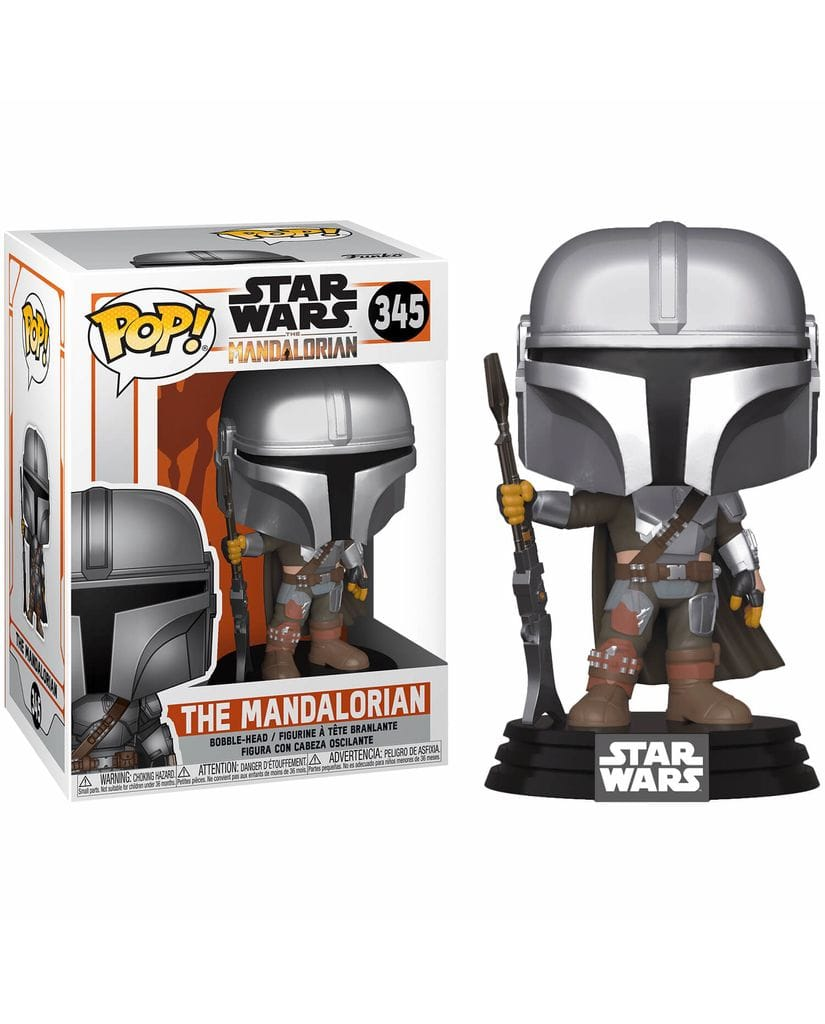 Фигурка Star Wars: The Mandalorian - Mandalorian New Armor (Funko POP!)