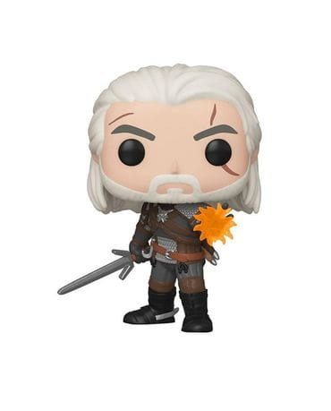 Фигурка The Witcher 3: Wild Hunt - Geralt Glow (Funko POP!) [Exclusive]