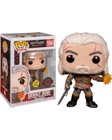 Фигурка The Witcher 3: Wild Hunt – Geralt Glow (Funko POP!) [Exclusive]