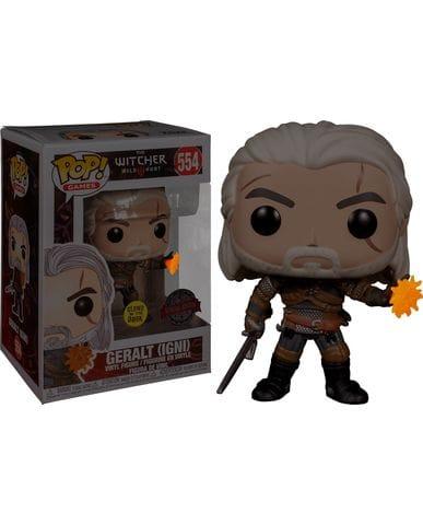 Фигурка The Witcher 3: Wild Hunt - Geralt Glow (Funko POP!) [Exclusive]