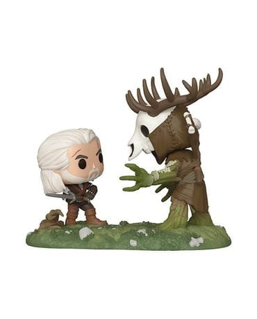 Фигурка The Witcher 3: Wild Hunt – Geralt vs Leshen (Funko POP!) [Exclusive]