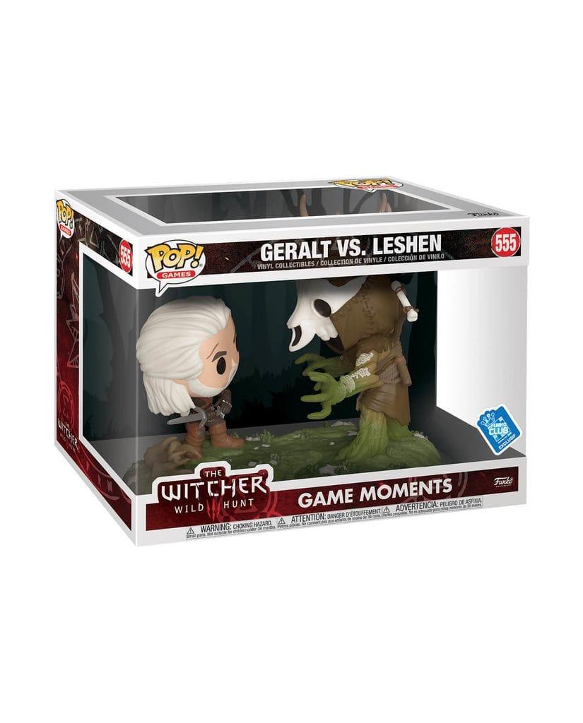 Фигурка The Witcher 3: Wild Hunt – Geralt vs Leshen (Funko POP!) [Exclusive]