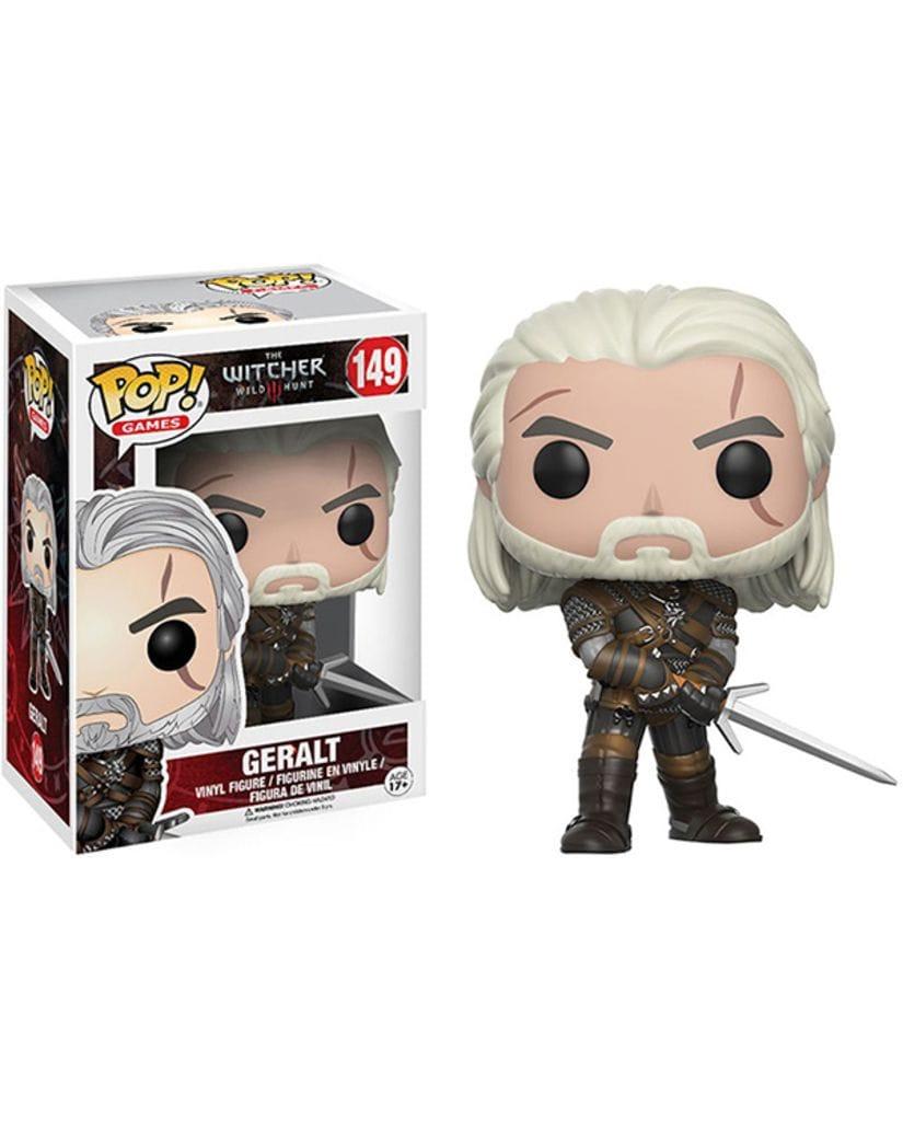 Фигурка The Witcher 3: Wild Hunt – Geralt (Funko POP!)