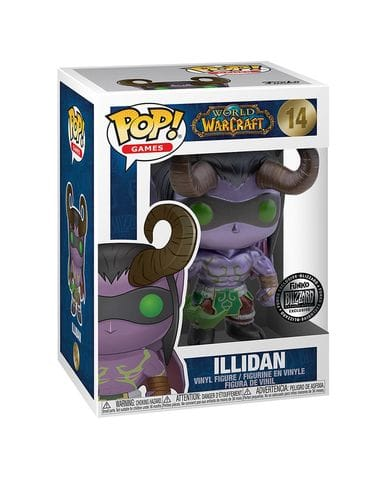 Фигурка World of Warcraft - Illidan Metallic (Funko POP!) [Exclusive]