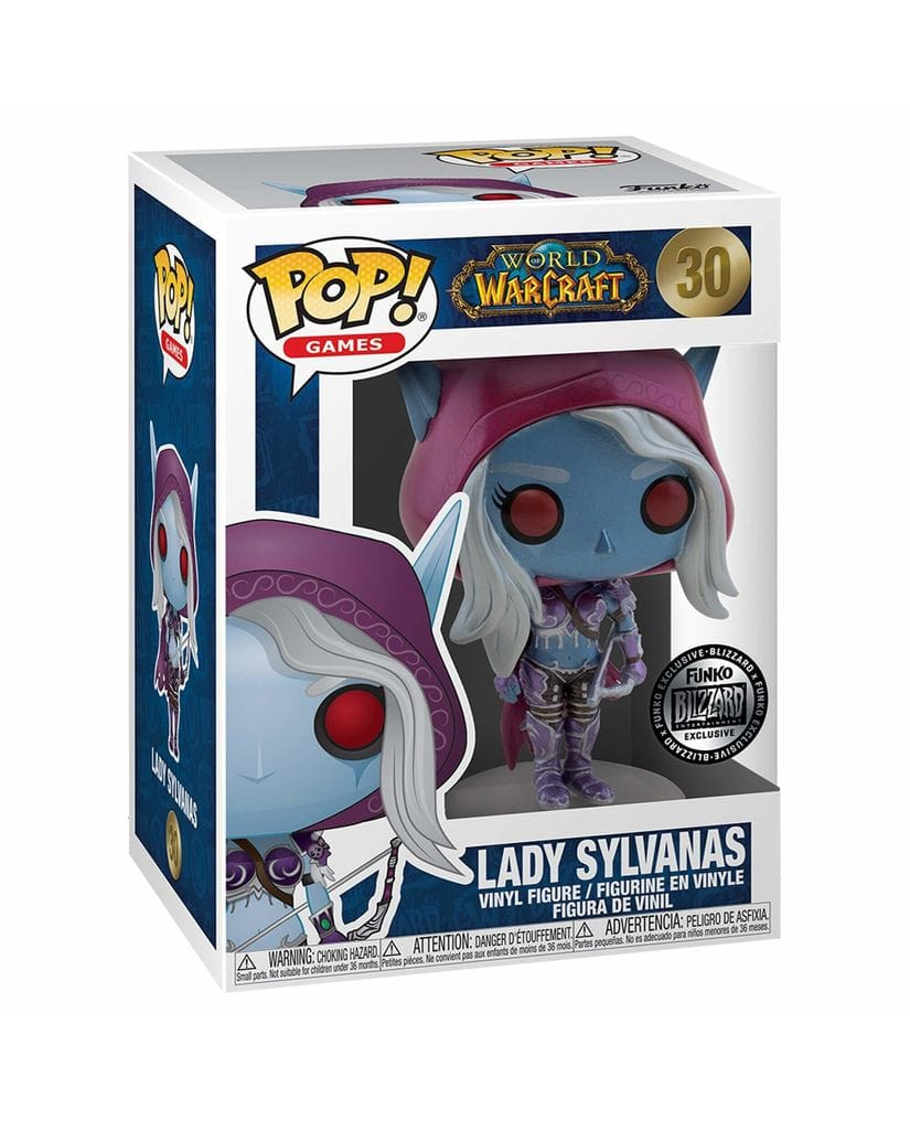 Фигурка World of Warcraft - Lady Sylvanas Metallic (Funko POP!) [Exclusive]