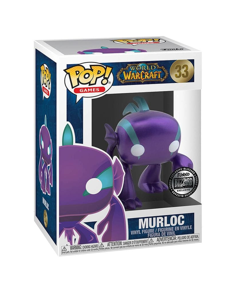 Фигурка World of Warcraft – Murloc Metallic (Funko POP!) [Exclusive]